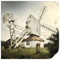 Thorpeness windmill, Suffolk, Print