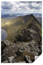 Striding Edge to Helvellyn, Print