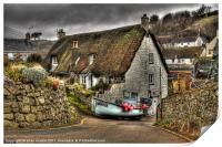 Cadgwith, Print