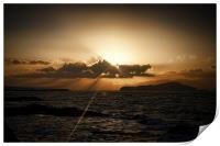 Sunset in Chania 2, Print