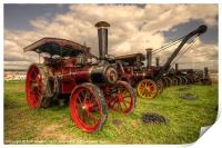 Traction Engines at the Great Dorset, Print