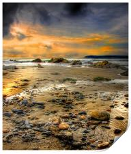 Pebble Beach, Print
