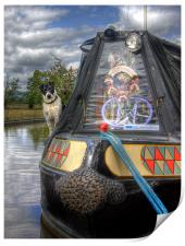 A Dogs Life Afloat, Print
