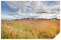 Colourful Cley, Print