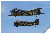Dakota display at Duxford, Print