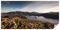Cat Bells Summit, Print