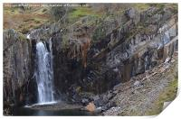 5. Walna Scar Waterfall, Print