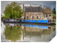 Boats By The Pub, Print