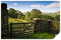 Martindale by Ullswater, Print
