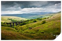 Dent Head Viaduct - North Yorkshire Dales, Print