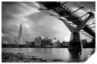 The Shard Skyline, London, Print