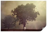 Waiting by the Tree, Print