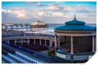 Eastbourne pier and bandstand, Print