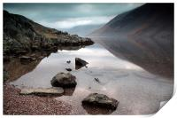 Wast Water reflection, Print
