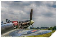 Covers Off Hawker Hurricane, Print
