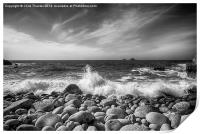 Cot Valley Porth Nanven 5 Black and White, Print