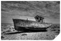 Dungeness Boat Days gone By, Print