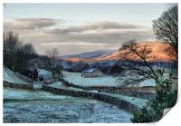 A Touch Of Frost, Print