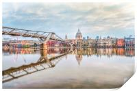 River Thames at Dawn, Print