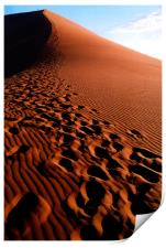 Footsteps in the Sand, Print