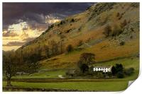Little House in the lake District, Print
