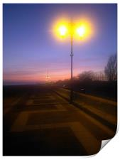 Southsea seafront, Print
