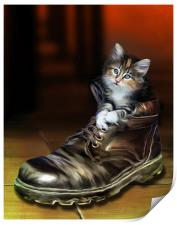 Puss in Boot, Print