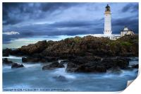 Corsewell Lighthouse, Print
