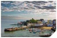 Tenby Harbour at Dusk, Print