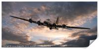 The Flying Fortress, Print