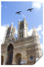 Bombers over the Cathedral, Print