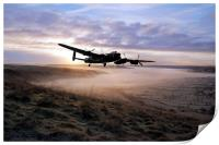 A Frosty Lancasters Morning, Print