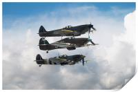 Battle of Britain Fighters, Print