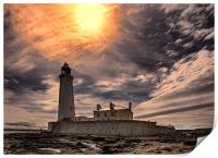 St Mary`s Lighthouse, Print