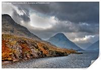 The Lakes - Wast Water, Print