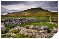 PenY-Ghent, Yorkshire Dales, Print