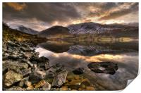 Wast Water, Lake District, Print