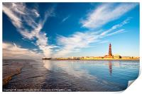 Blackpool Tower Reflections, Print