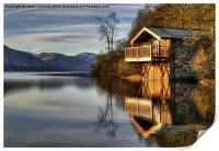 Ullswater Boathouse, Print