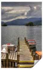 Motorboats for hire, Print