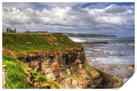 The East Cliff, Print