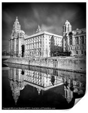 The Liver Building, Print