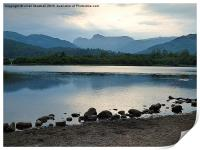 Elterwater and the Langdales , Print