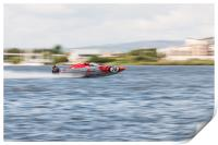 P1 Powerboats Team Wales 2, Print