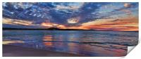 Noosa River Sunset, Print