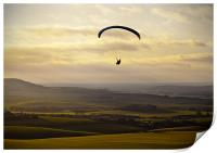 Over the Downs, Print