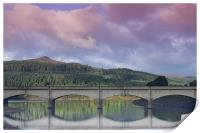 Win Hill from Ladybower, Print