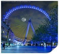 The London Eye, Print