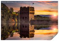Autumn at Derwent Dam, Print