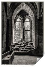 The Chapter House Window, Print